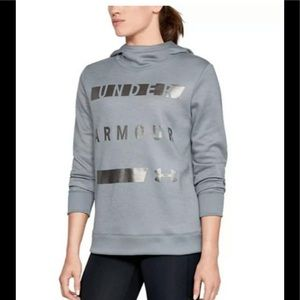 Under Armour Cowl Neck Hoodie Reflective Cold Gear